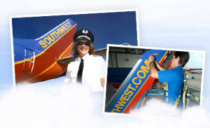 The Southwest air crews are some of the friendliest in the skies - or on the tarmac.