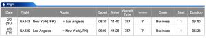 United JFK-LAX Business Class Feb 2- Feb 6