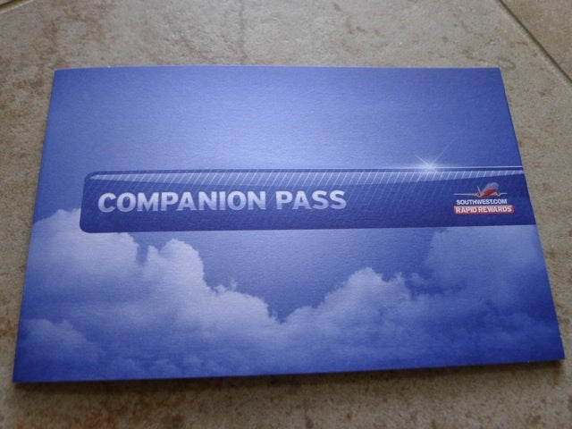 The companion pass is valid for the remainder of the year plus the following year.