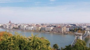 Overview of Budapest.