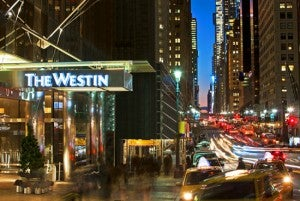 You can enter to win two free nights in the presidential suite at the Westin Grand Central.