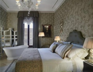 Landmark Grand Canal Room at The Gritti Palace.