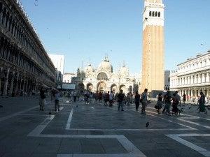 Stroll through the Piazza San Marco.