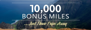 Earn up to 10,000 Alaskan Airlines bonus miles on 3 flights.