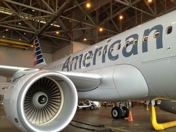 The A319 will begin flying from Dallas Fort Worth on September 16, 2013.