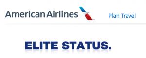 American Airlines Elite Status