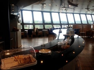Basic British Airways lounge at TXL