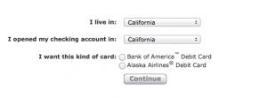 Bank Of America Alaska Airlines Debit Card