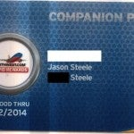 Getting the Companion Pass card itself is nice - even though you don't need it for much.