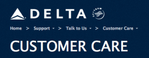 Try calling Delta Customer Service, as they do actually listen!