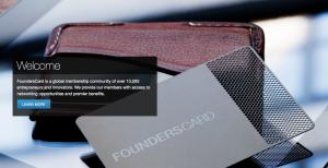 FoundersCard Membership numbers