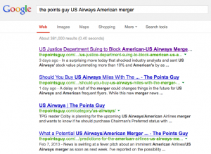 If you search for 'the points guy' and your query, you will most likely find I've already written about it.
