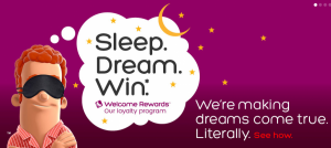 The Hotels.com 'Sleep. Dream. Win' sweepstakes is open now through August 30.