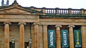 The National Galleries of Scotland feature both Scottish and International art from around the world.