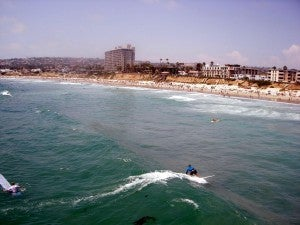 San Diego's Pacific Beach.