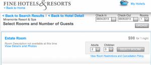 $98 per night at the Miramonte Resort & Spa