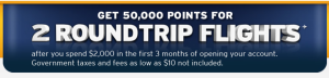 The Southwest 50,000 point sign-up bonus ends Tuesday.