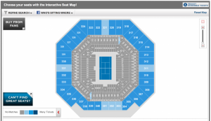 Most of the lower promenade is sold out