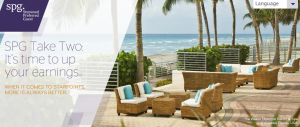 Registration is now open for Starwood's Take Two promotion.