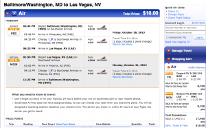 Award tickets on Southwest often require far fewer points than using traditional mileage programs.