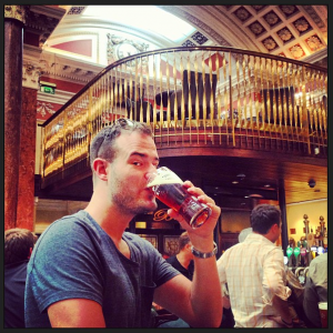 My second lucky charm was a fresh pint of Smithwicks at The Bank - a converted bank and one of my favorite spots for an afternoon snack/drink.
