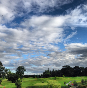 My third lucky charm was a beautiful golf course in Trim, Ireland.