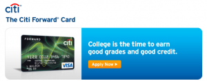 The Citi Forward card offers 5% cash back on restaurants and entertainment purchases.
