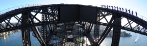 The best way to see Sydney Harbour Bridge is from on top of it.