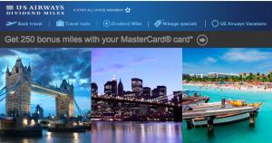 US Airways MasterCard Miles