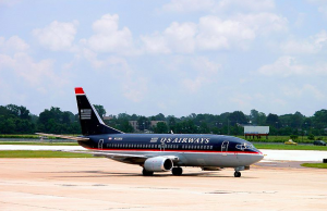US Airways Old Plane