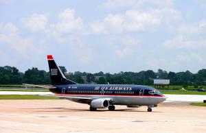 US Airways Old Plane