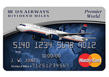 If the merger goes through, it will eventually mean the end of the US Airways World Mastercard.
