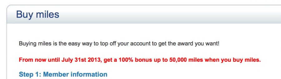 No more lucrative US Airways buy miles bonuses.