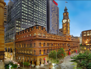 The Westin Sydney is located in the GOP Building.