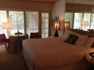 An Estate Room at the Parker Palm Springs.