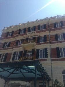 Exterior of the Hilton Dubrovnik.