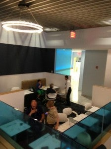 Snapshot of the basic JFK T5 Airspace lounge