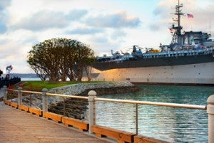 THe USS Midway is now a maritime museum.