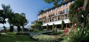 The Hotel Cipriani is located on Giudecca island.