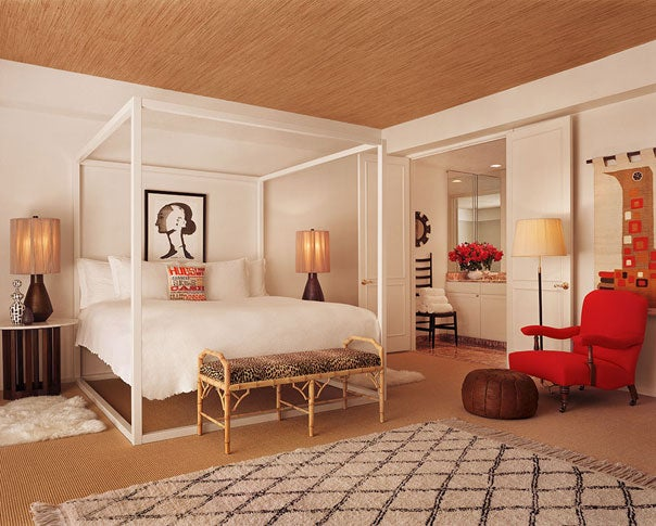 Junior Suite with patio and garden view.