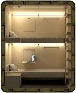 One reader suggested getting space-conscious Sleepboxes.