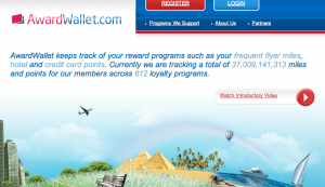Award Wallet is one efficient way to keep track of miles.