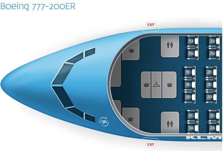 Klm Boeing 777 Interior