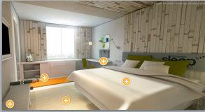 An artist's rendition of a room at IHG's new collection of EVEN Hotels.