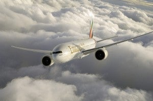 The new route will be serviced by a 777-200LR.