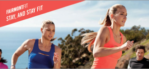 Fairmont has paired up with Reebok for their Fit program.