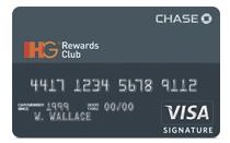 IHG Rewards Club Visa
