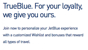 Get a 50% bonus when you purchase TrueBlue miles from JetBlue.