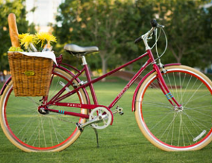 Kimpton loans out 3-speed bikes.