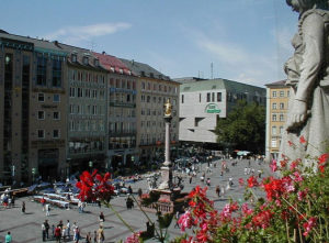 The Marienplatz has been the main central square since